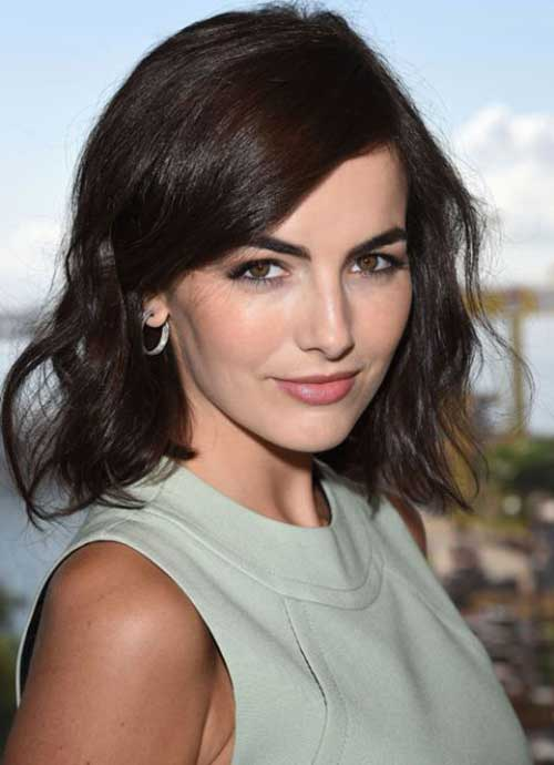 Famous Shoulder Length Hair Hairstyles 2016