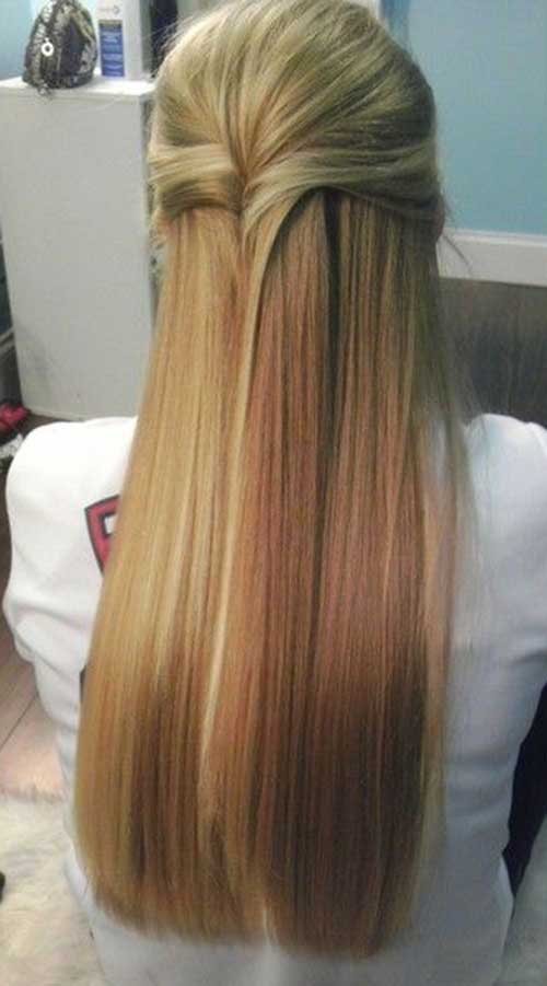 Chic Formal Hairstyles Half Up Half Down