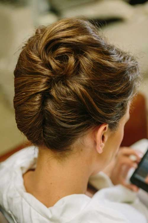 French Twist Updo Hairstyles 2016