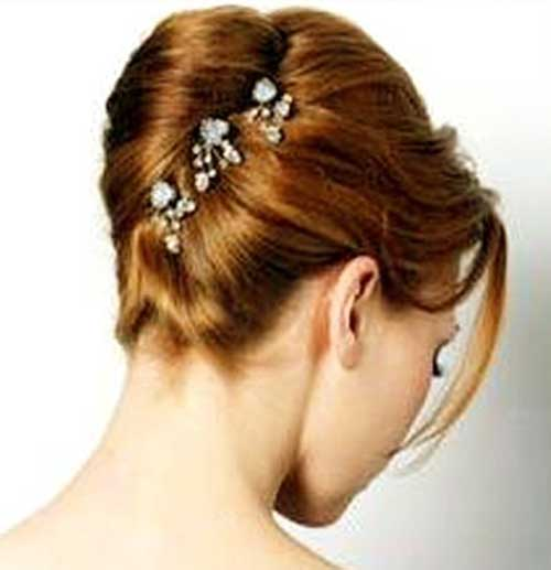 French Twist Updo Images for Wedding