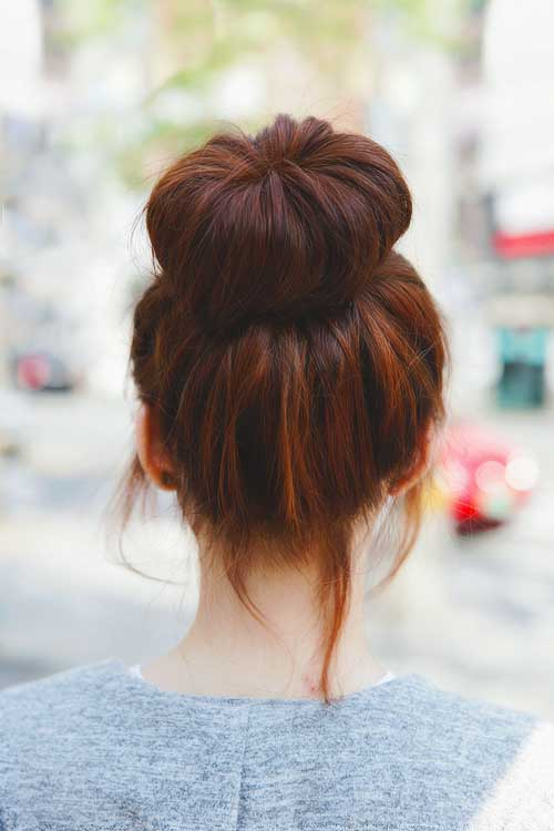 Hair Buns Long Hairstyles