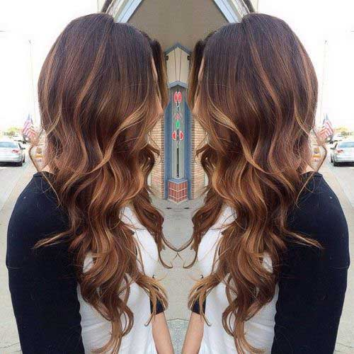 25 Brunette Hairstyles 2015 2016 Hairstyles And Haircuts