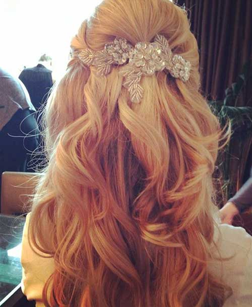 Hair Half Up Half Down Ideas Bridal Styles