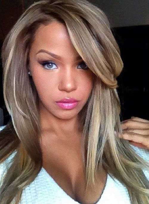 Easy Long Hair Highlights 2015