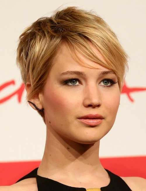 Jennifer Lawrence Pixie Haircut 2015