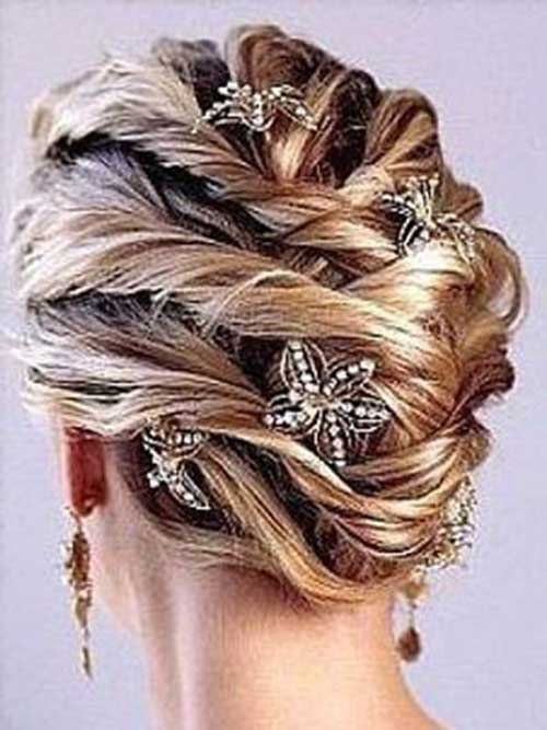 Wedding Hairstyles with Hair Clips