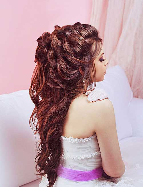 Best Half Up Half Down Bridal Hair