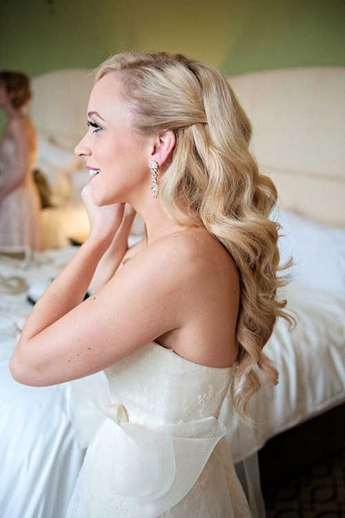 Gorgeous Half Up Half Down Bridal Hairstyles