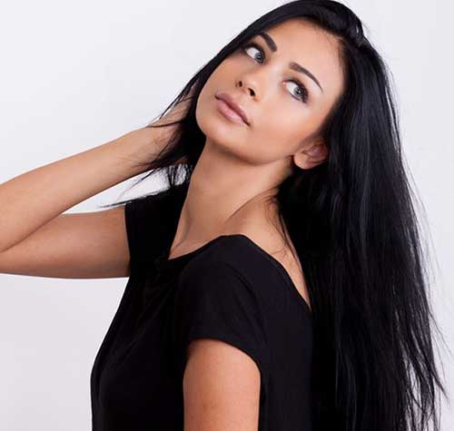 Indian Long Straight Hair Styles