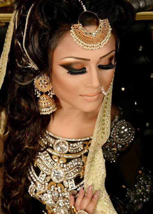 Indian Wedding Style Long Hairstyles