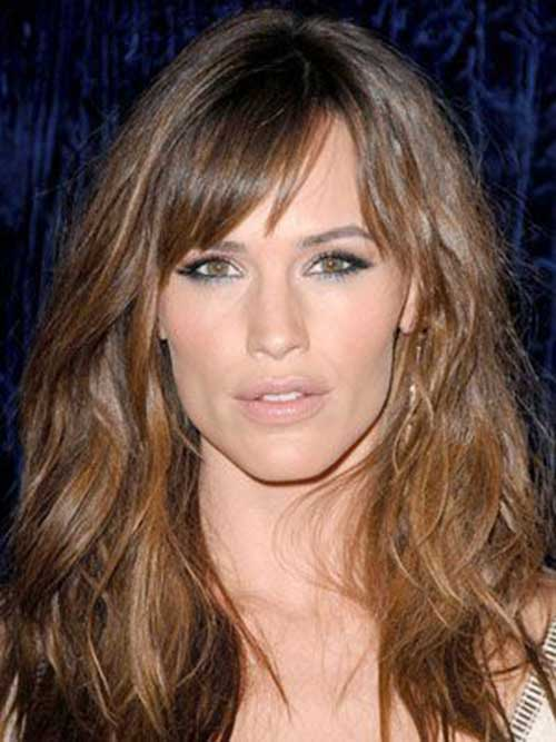 Jennifer Garner Hairstyles for Long Faces