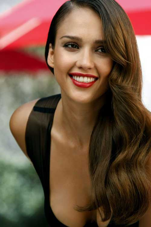 Jessica Alba Long Haircuts