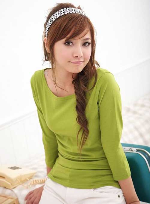 Korean Cute Girls Hairstyles