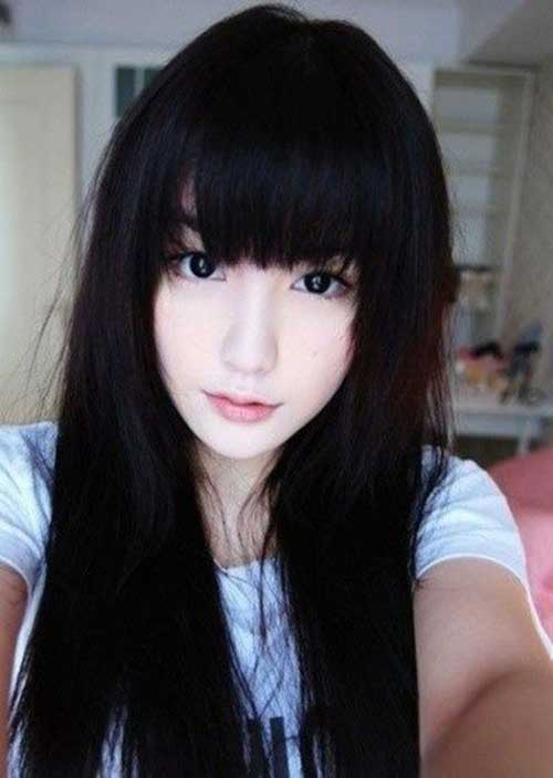 Korean Hair Bangs Fashion 2014