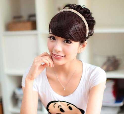 Latest Korean Style Bun