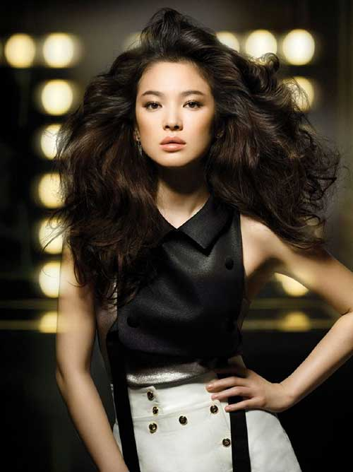Korean Women Long Hairstyles