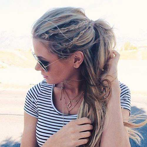 25 Latest Braids Hairstyles Hairstyles And Haircuts Lovely