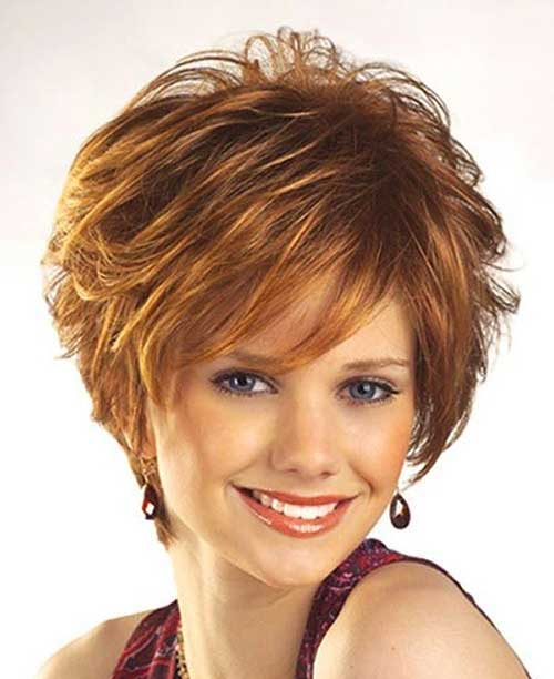 Best Layered Short Hairstyles 2015 for Women Over 40