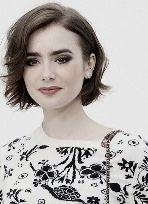 Lily Collins Best Short Hairstyles