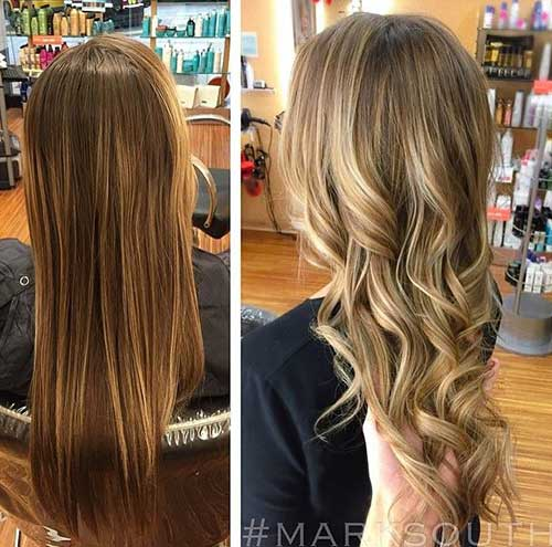 Brown To Blonde Hair Colour Ideas