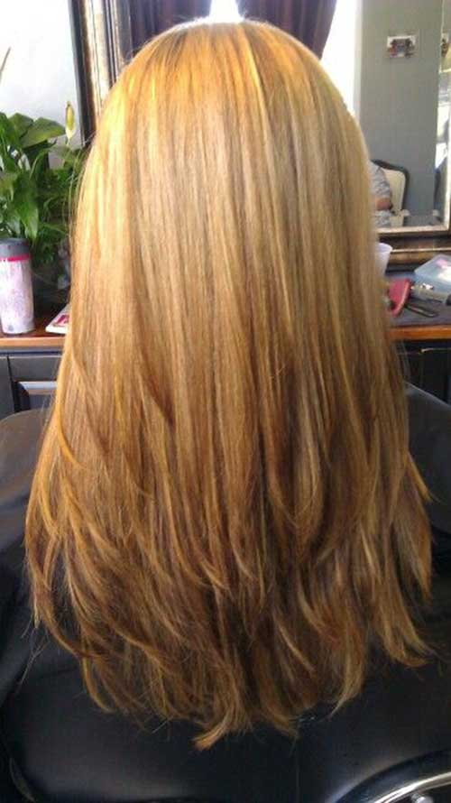 20 Long Layered Straight Hairstyles Hairstyles And Haircuts