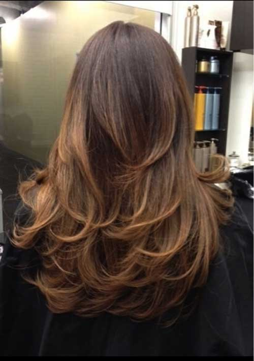 Long Hair with Short Layers Easy Cuts