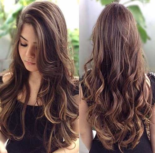 Best Long Layers with Highlights