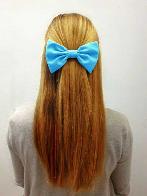 Best Long Simple Hair Simple Style