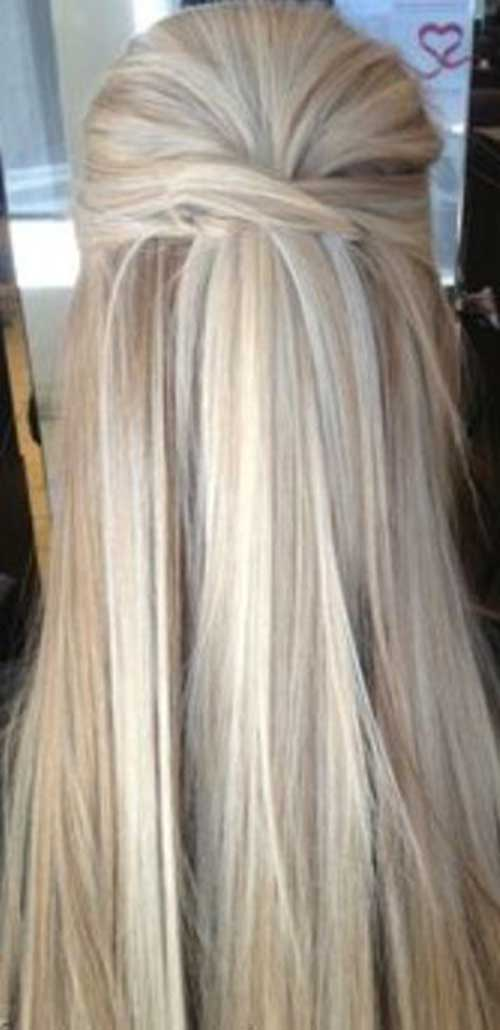Simple Long and Blonde Hair