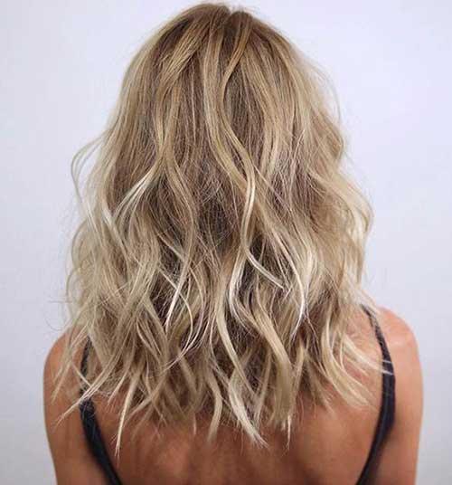 Medium Wavy Haircuts 2016
