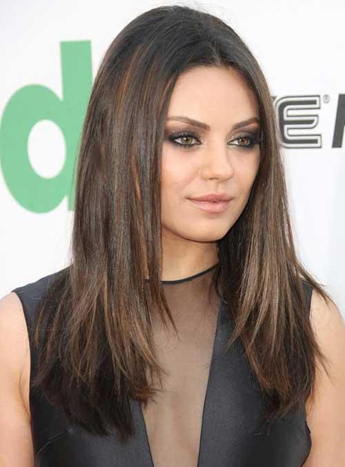 Mila Kunis Hair 2015