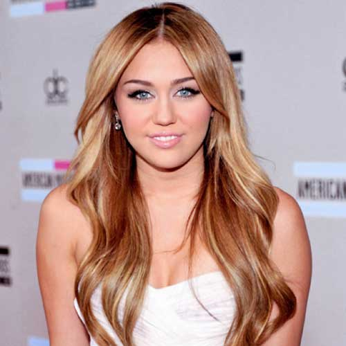 Best Miley Cyrus Long Straight Hair