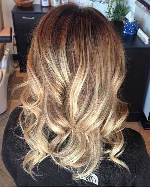 Natural Blonde Hair with Highlights
