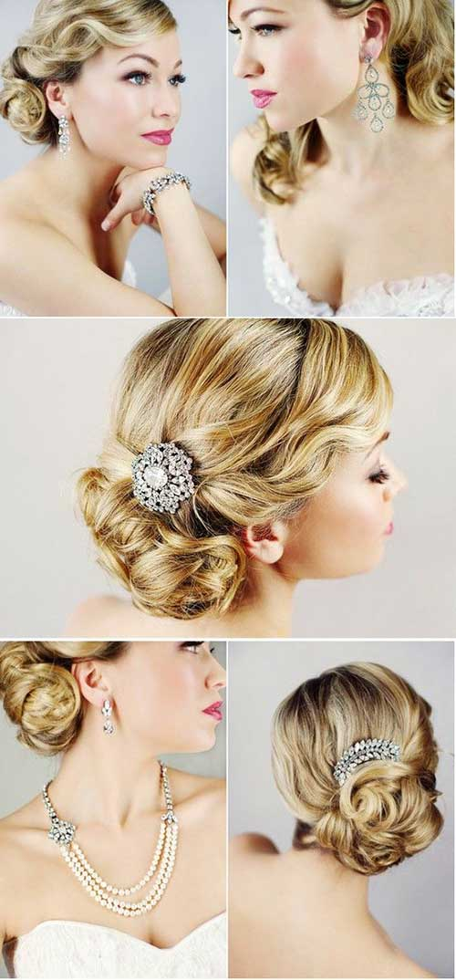 Old Hollywood Wedding Hair Images