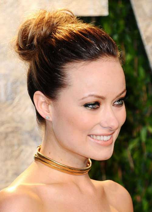 Olivia Wilde Updo for Party