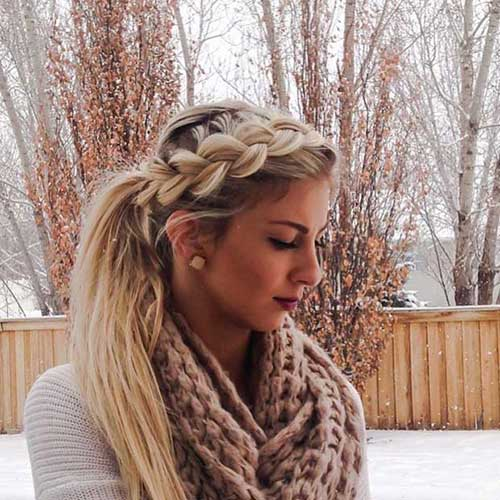 Best Ponytail Braid