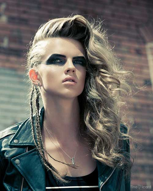 Best Punk Long Hairstyles