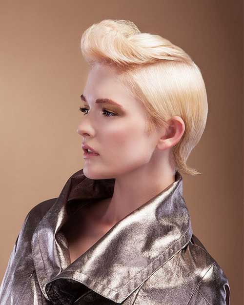 Quiff Party Hairstyles for Women