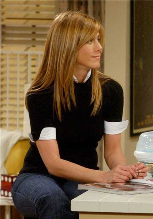 Rachel Green Easy Long Hair