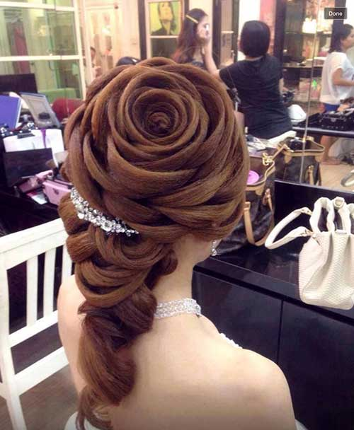 Rose Hairstyle 2016