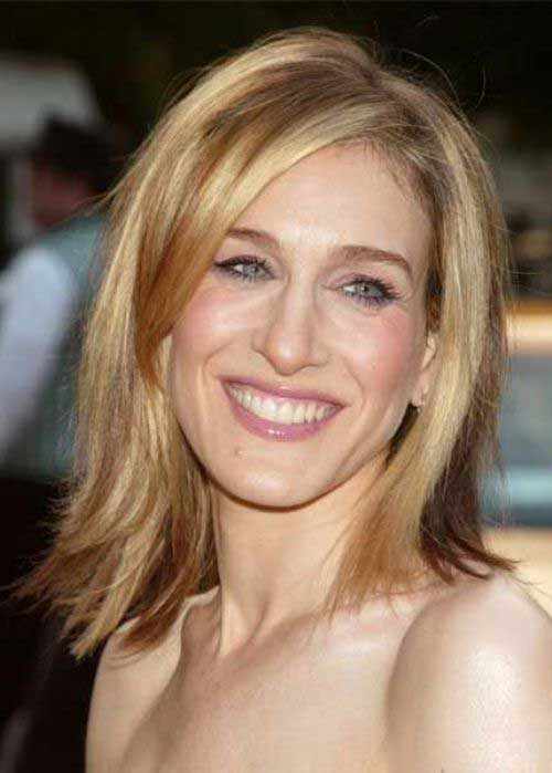 Sarah Jessica Parker Medium Hair for Long Faces