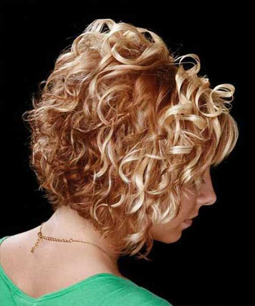 Good Short Curly Hairstyles 2015