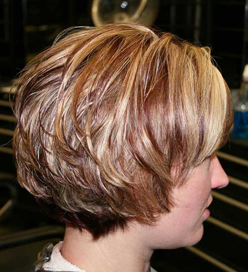 Short Layered Bob Haircuts 2016