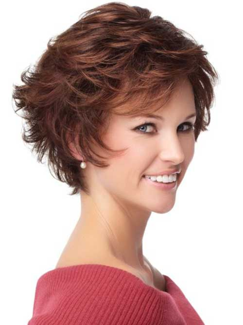 Short Shaggy Womens Fine Hairstyles