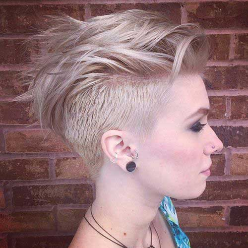 Best Short Undercut Hairstyles