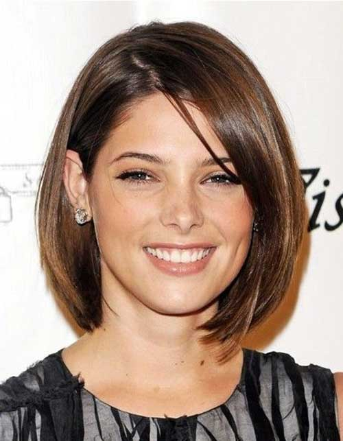 Simple Straight Short Hairstyles 2015