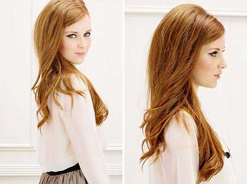Simple Style Side Swept Bangs