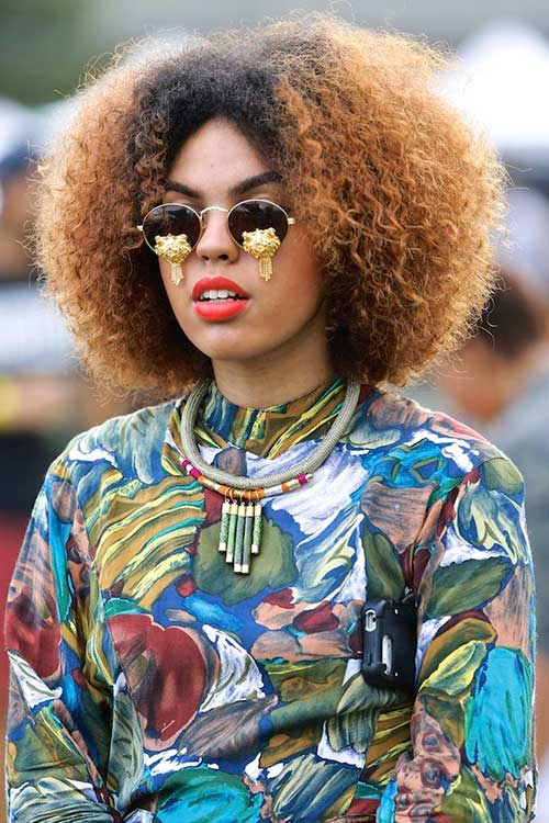 Trendy Afropunk Girl Hair