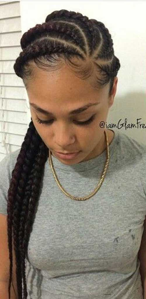 Twist Cornrows Hairstyles 2016