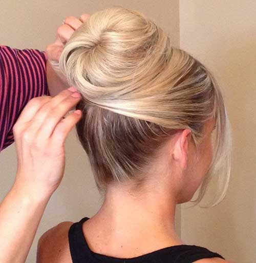 High Updo Hairstyles 2015